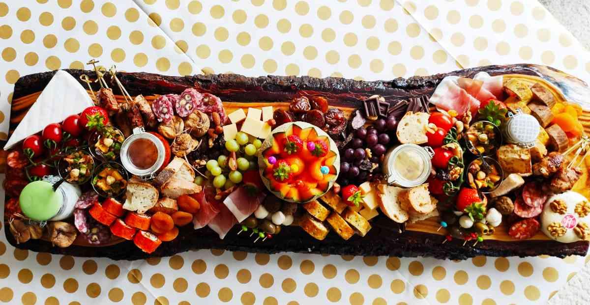Een hapjesplank van Dana's Kitchen uit Haaksbergen