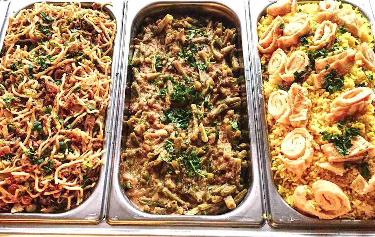 Griekse Moussaka op een bord van Dana's Kitchen in Hengelo