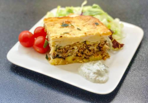 Griekse Moussaka van Dana's Kitchen uit Hengelo