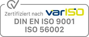DIN ISO  9001 + 56002