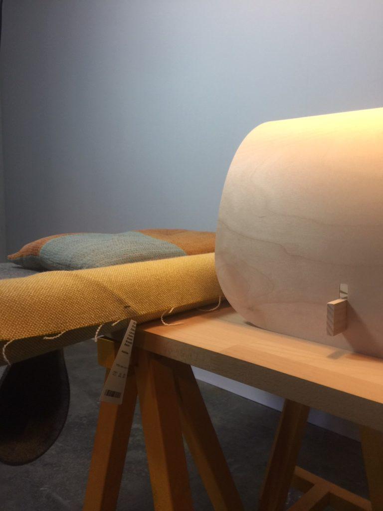 stof en hout materiaal