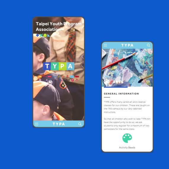 TYPA Branding & Website