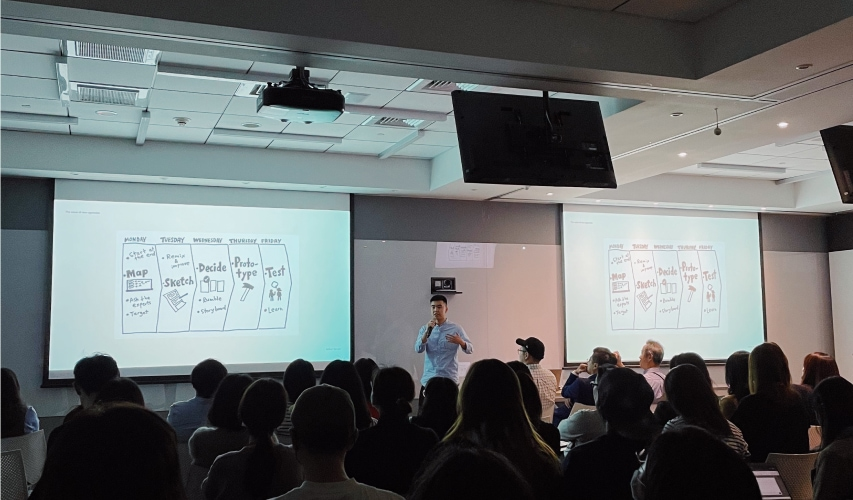 Tenten - Digital transformation for Agencies Keynote speaker for Dentsu Group