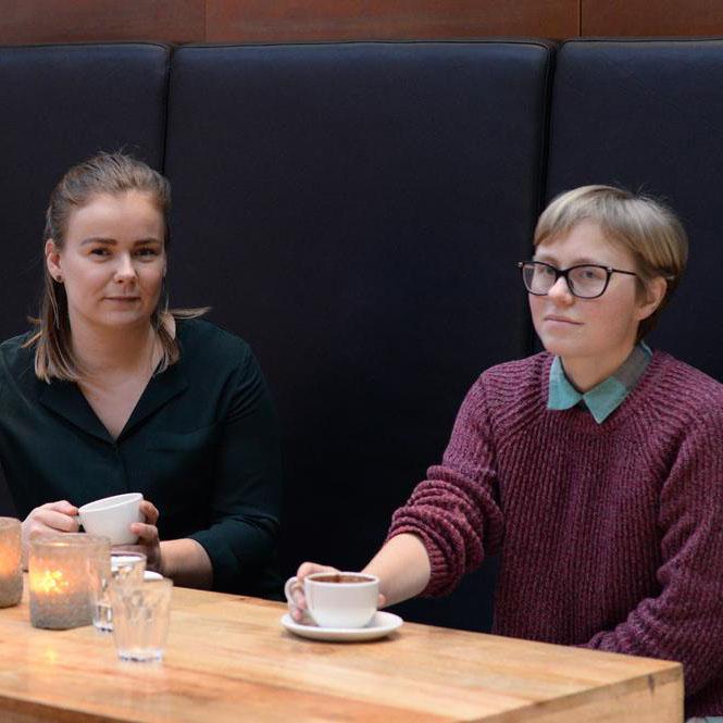 Kristin Skjøtskift og Anne Helene Hauge