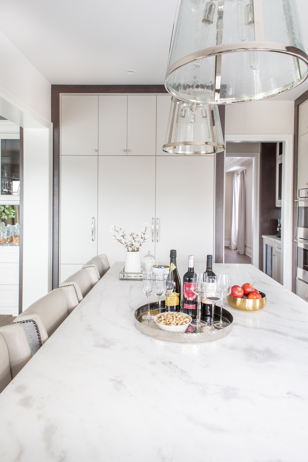 island marble counter