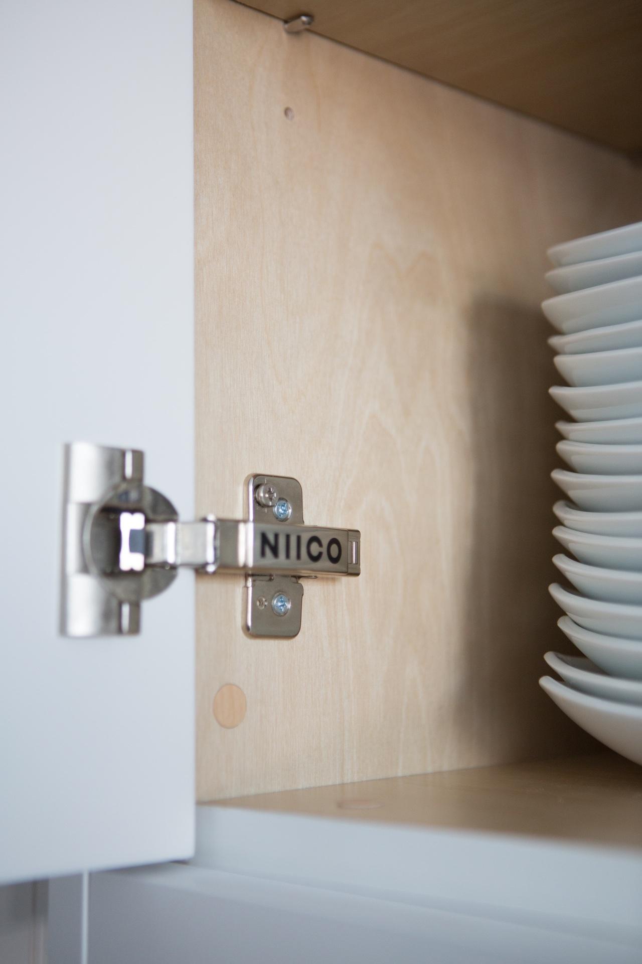 NIICO cabinet hinges