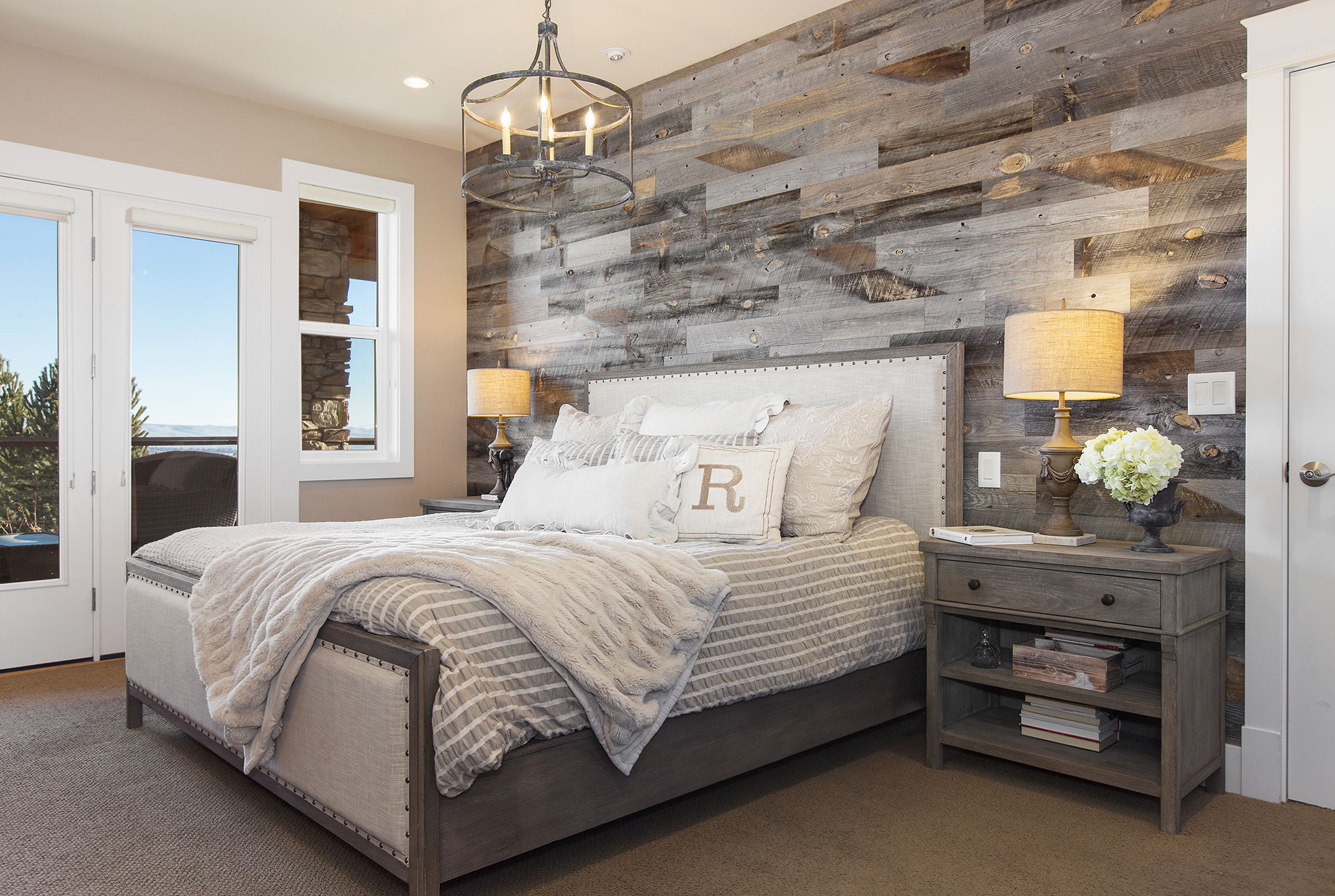 Modern Farmhouse Bedroom Design