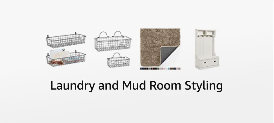 Laundry and Mud Room Styling