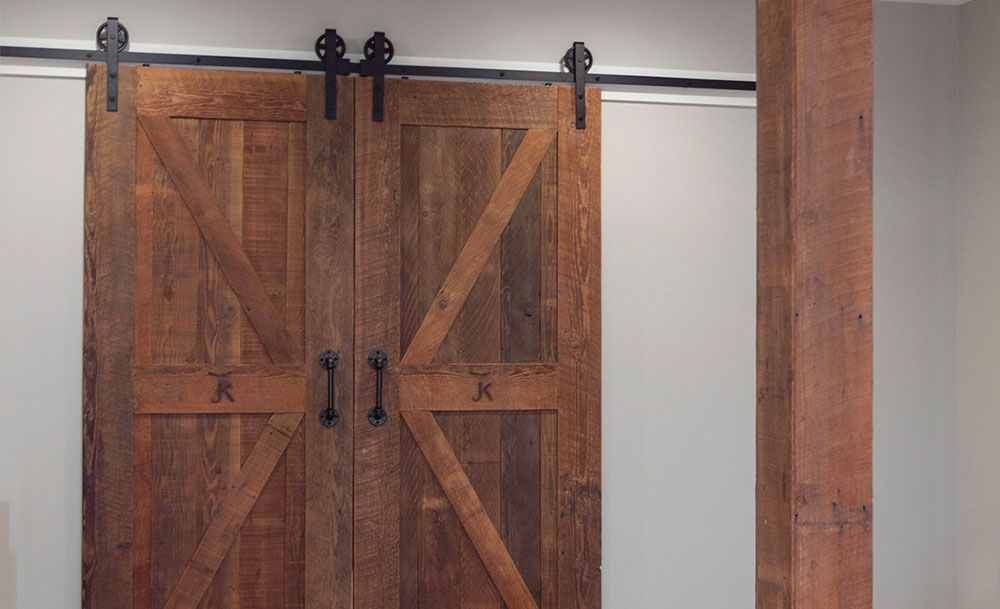Custom Barn Door Modern Farmhouse