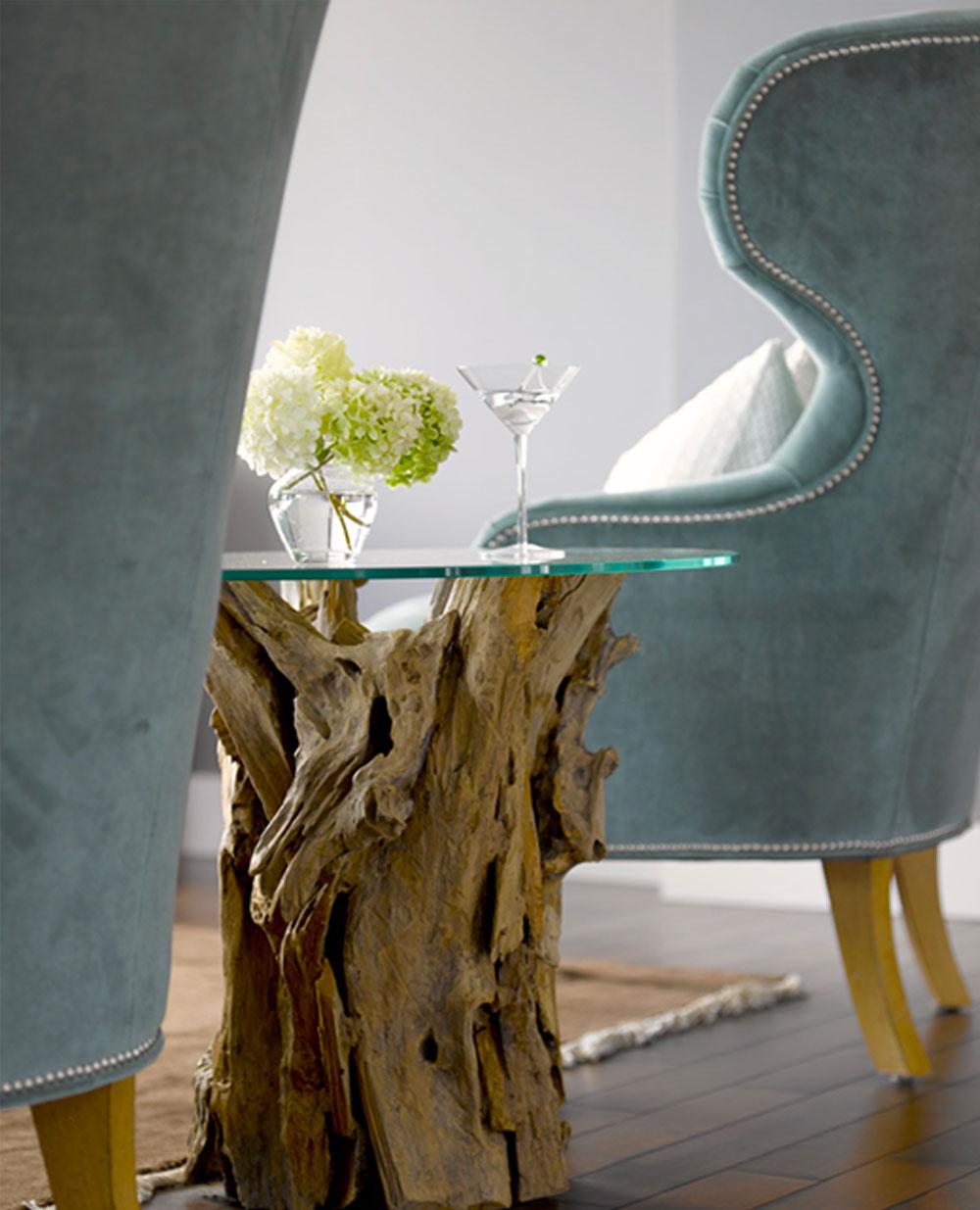 Custom Wood Side table