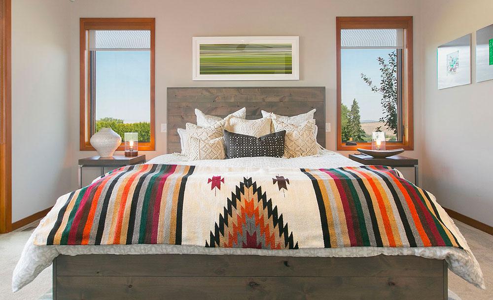 Rustic Wood Bed Frame