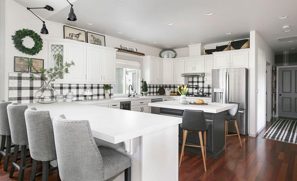 Modern Farmhouse Kitchen Yakima, Washington