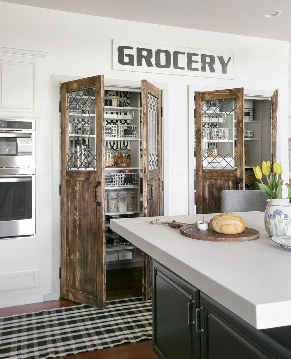 Modern Farmhouse Custom Pantry