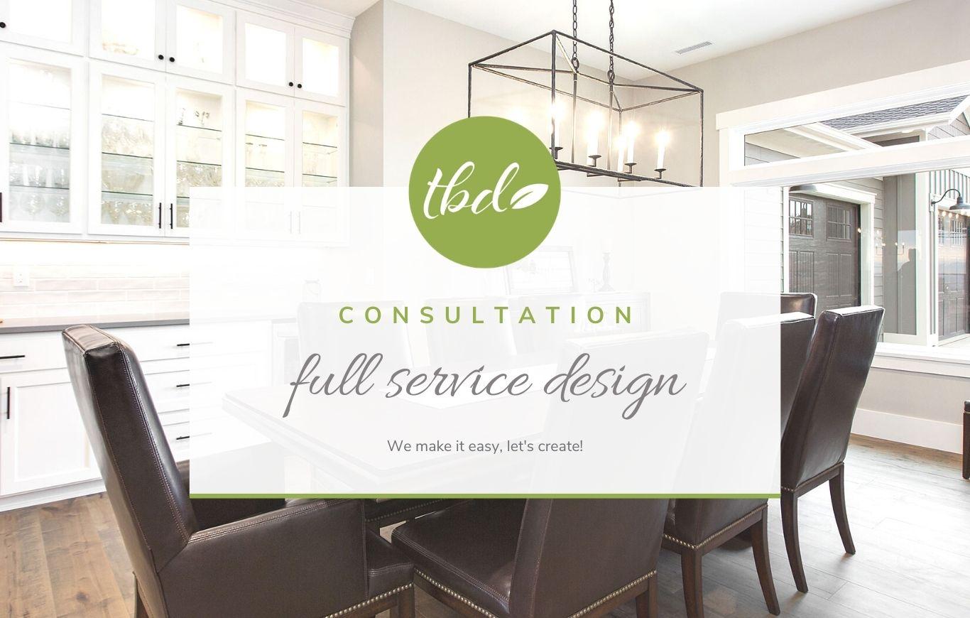 Full Service Interior Design Consultation