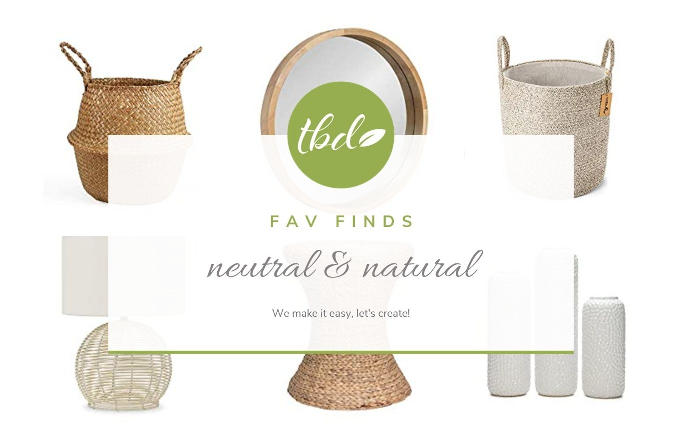Decor: neutral & natural