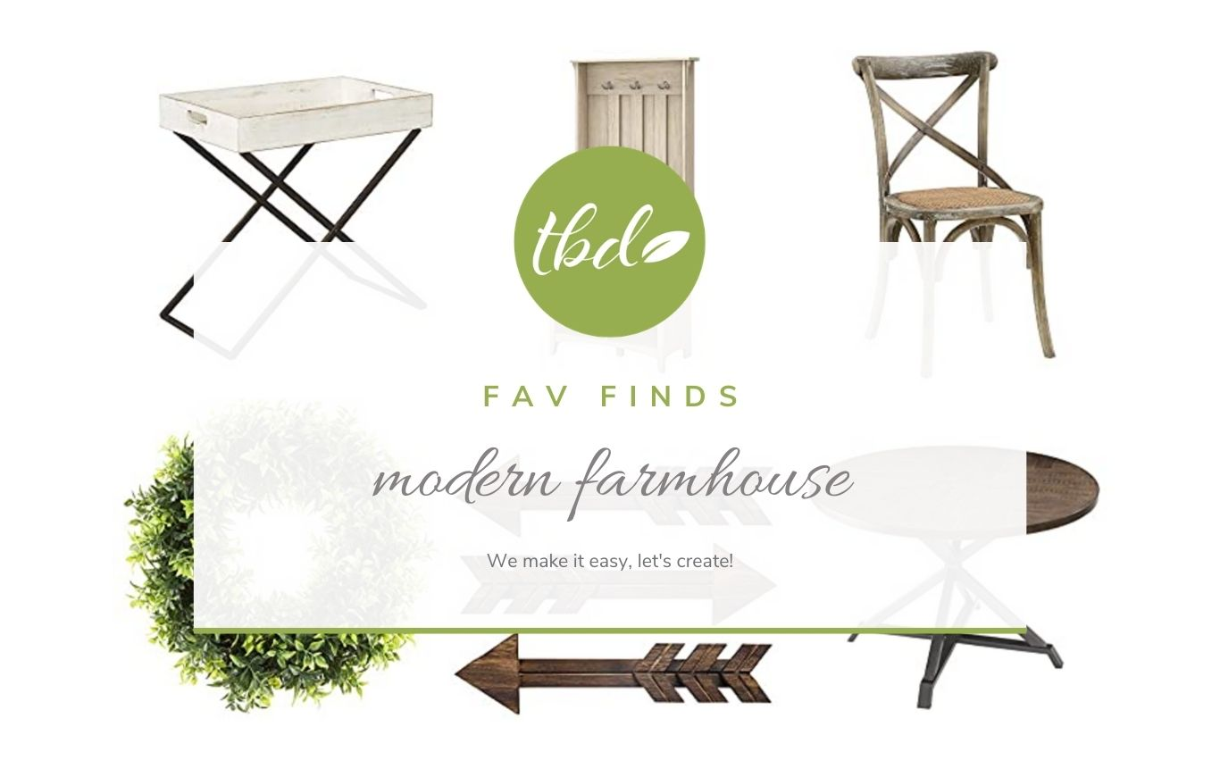 Decor: modern farmhouse