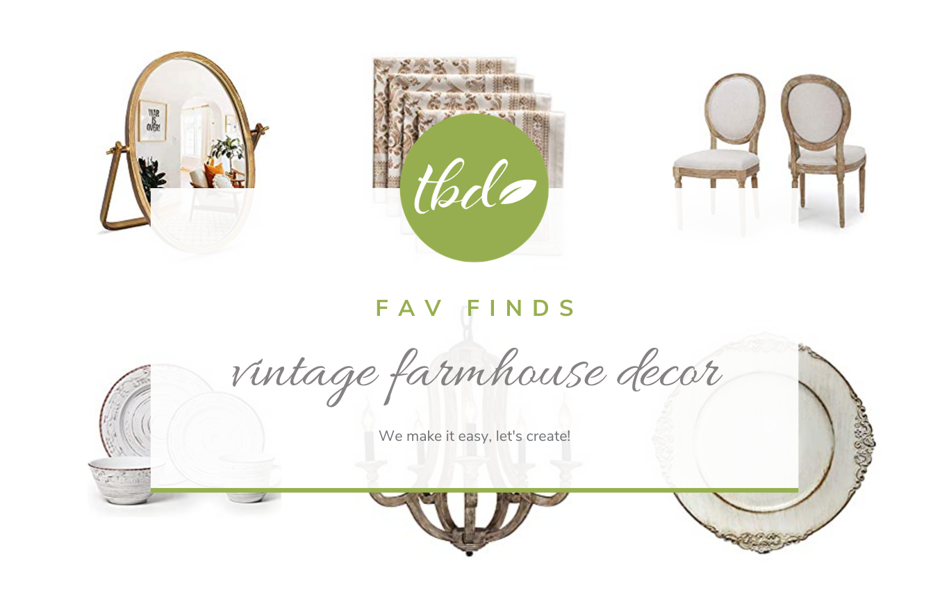 Decor: vintage farmhouse