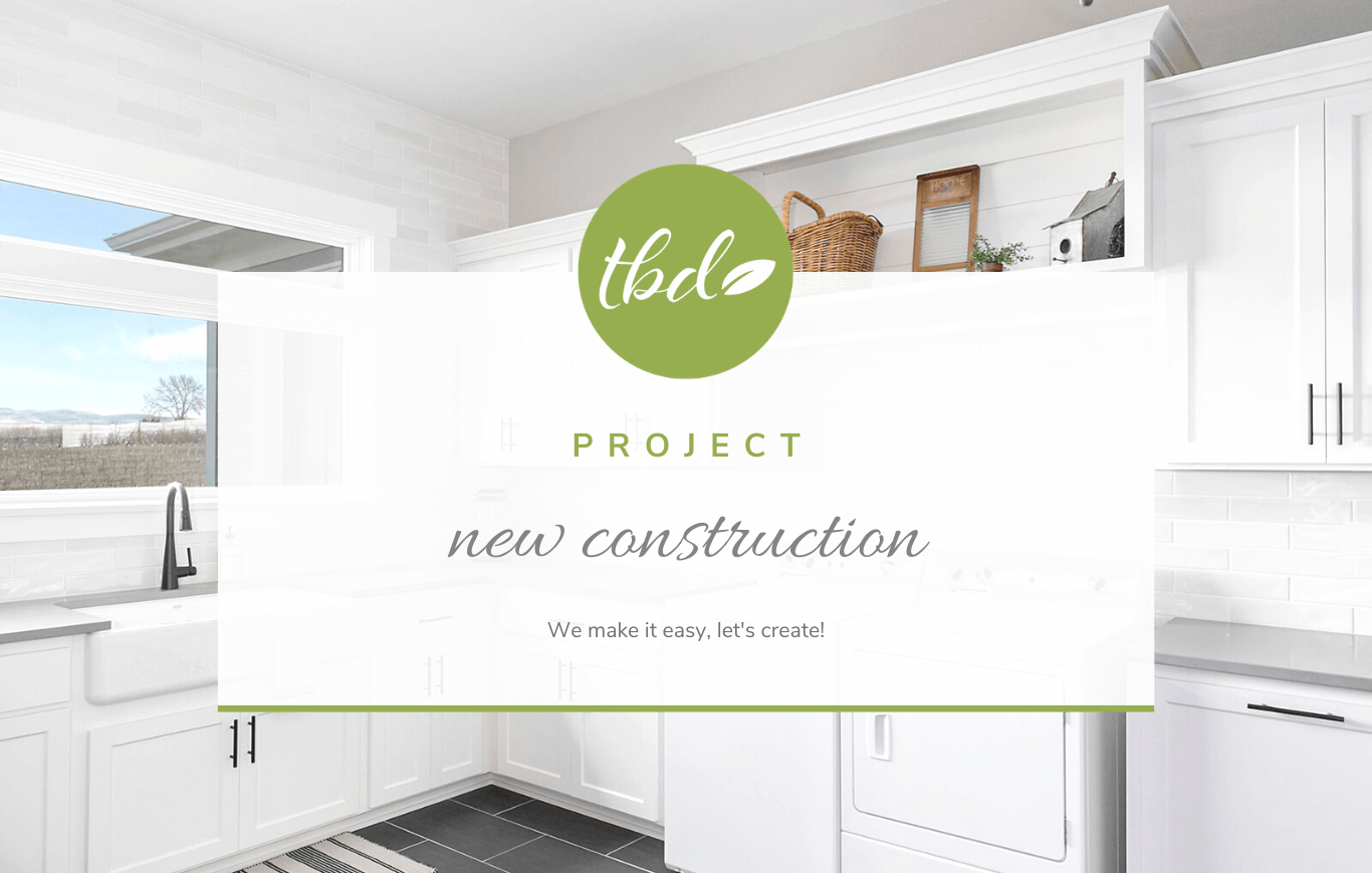 New construction interior designer