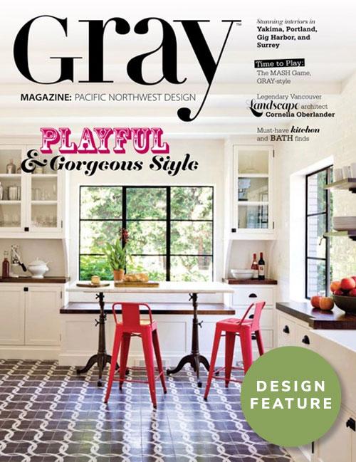 Gray Magazine Design Feature