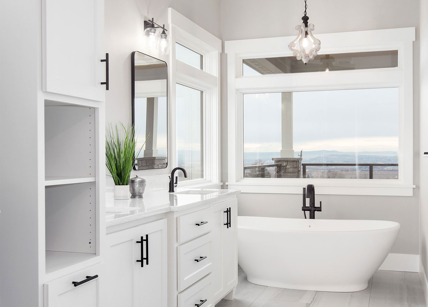 Magazine Worthy Master Bathroom With Wow