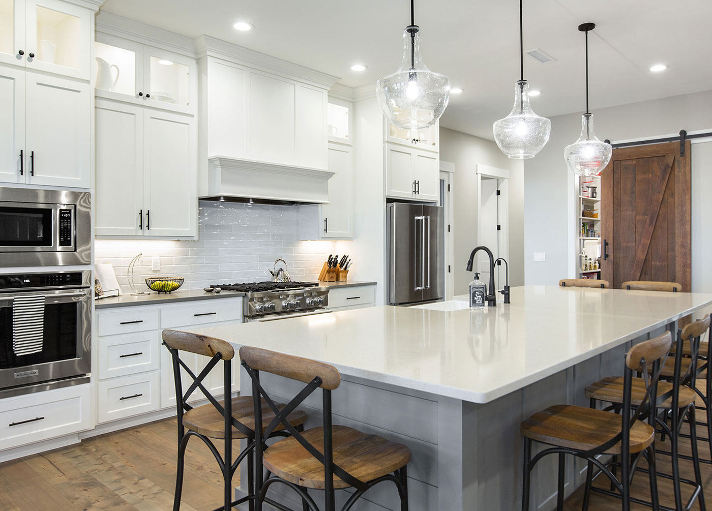 Modern Ranch Kitchen for a Farmhouse Hipster
