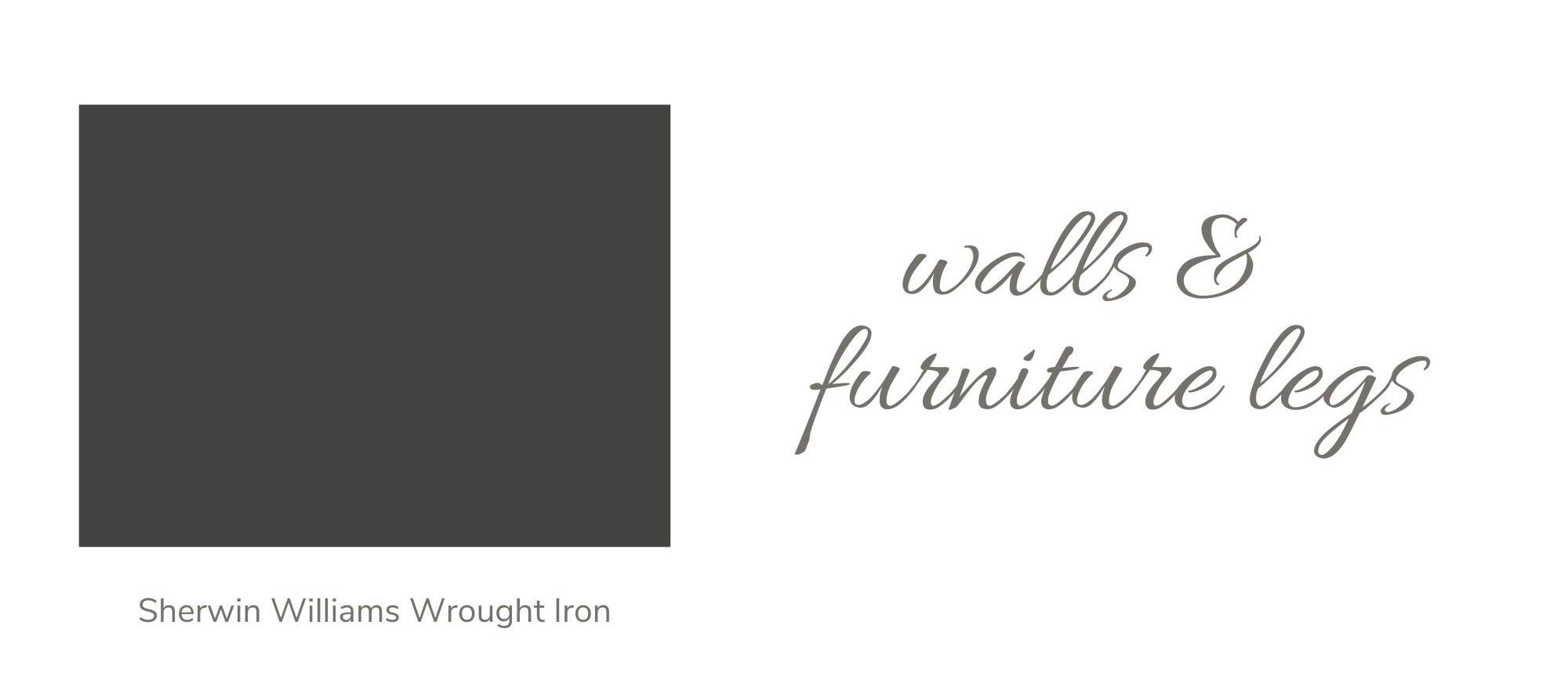 Sherwin Williams Wrought Iron Paint