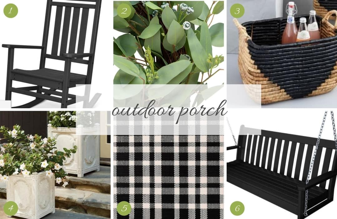 Shoppable Room   Outdoor Porch   Tanna by Design