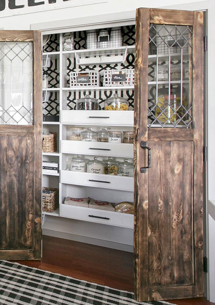 Modern Farmhouse Pantry