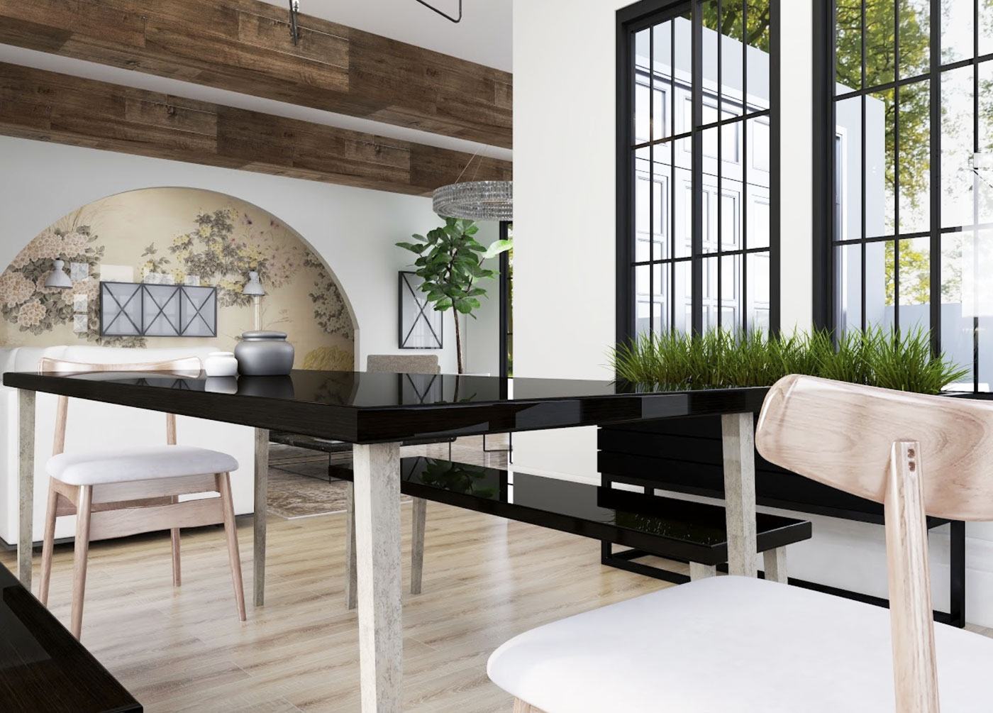 Virtual Design Dining Room