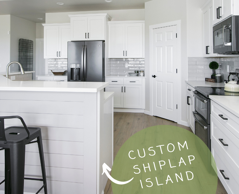 Custom Shiplap Island