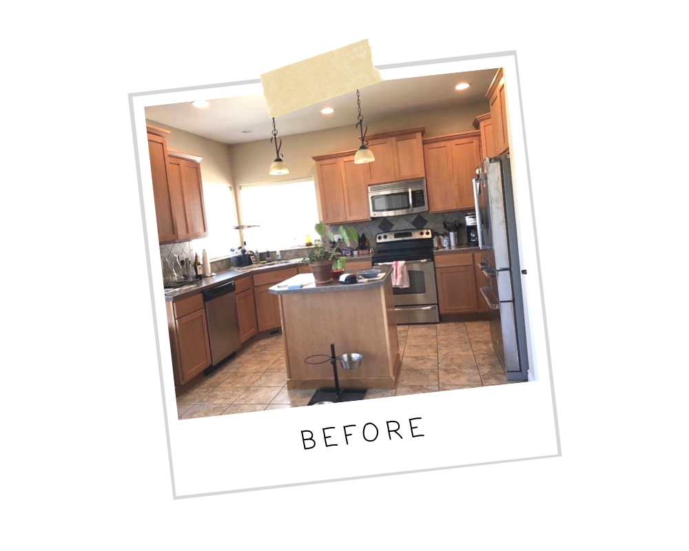 Kitchen Transformation Before