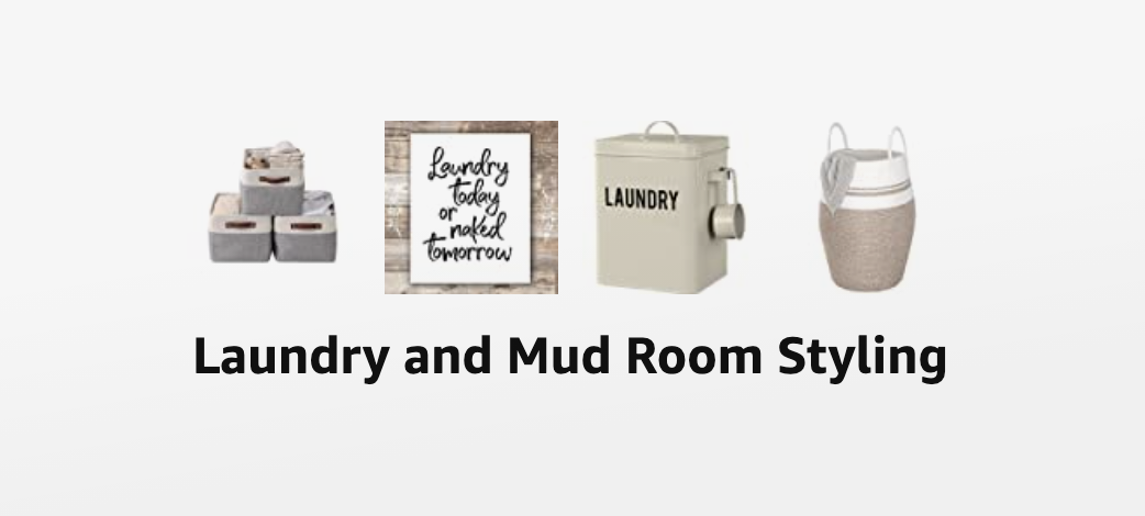 Laundry & Mudroom Styling