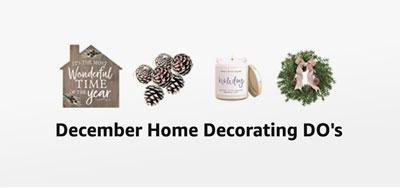 December Home Decor