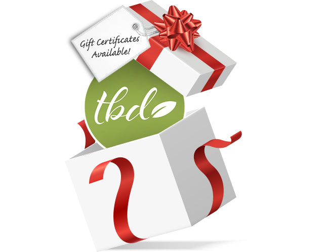 TBD Gift certificates