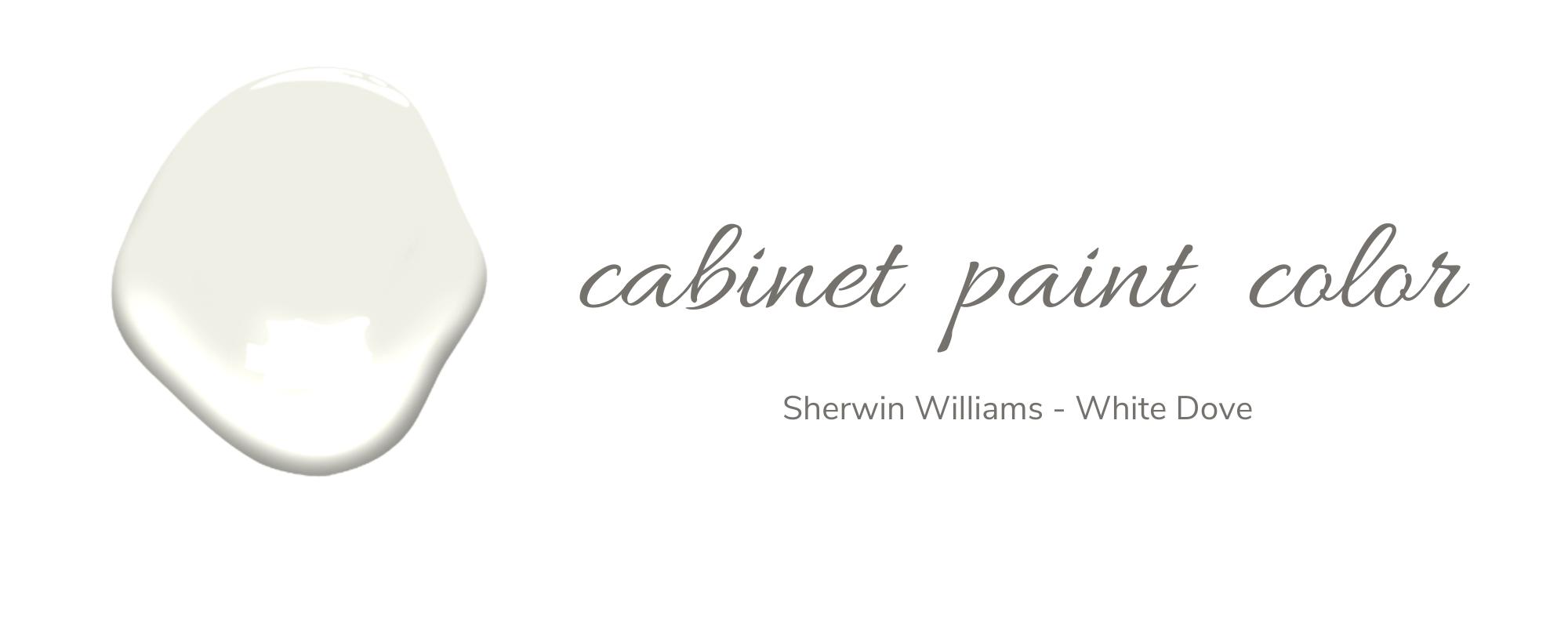 Sherwin Williams - White Dove