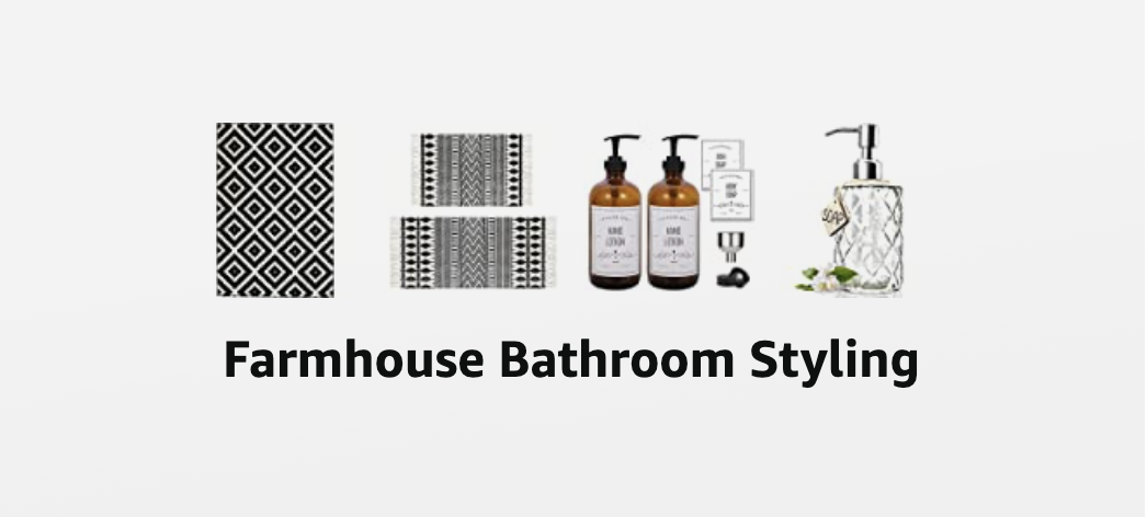 Farmhouse Bathroom Styling