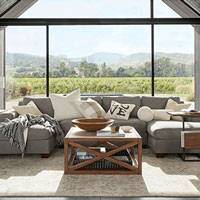 Pottery Barn- Big Sur Square Arm Sectional
