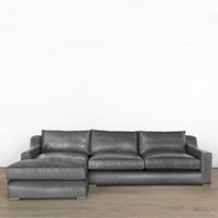 McGee & Co. - Remi Leather Sectional