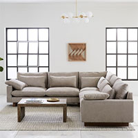 West Elm - Harmony 3-Piece L-Shaped Sectional