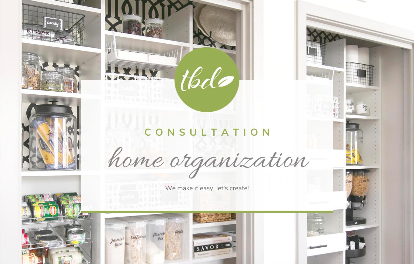 Home Organization Consultation
