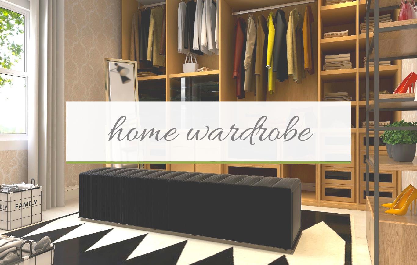 Home wardrobe organization