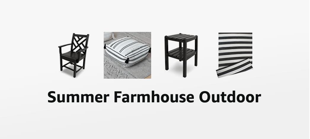 Summer Farmhouse Outdoor Decor