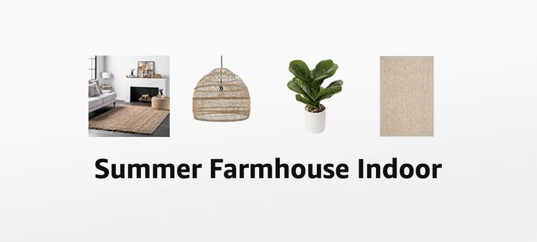 Summer Farmhouse Indoor Decor