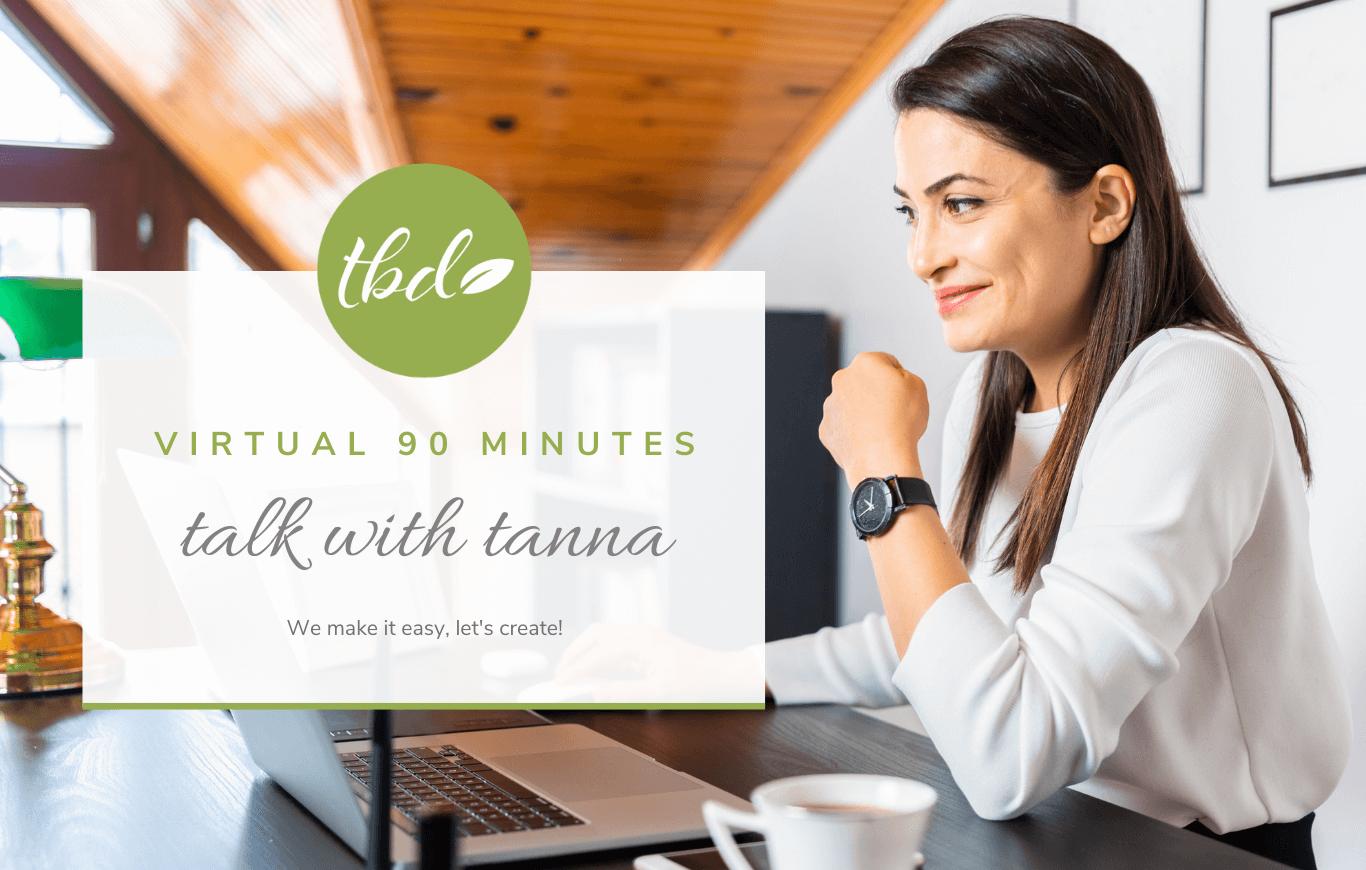 Virtual Talk With Tanna - 90 Min