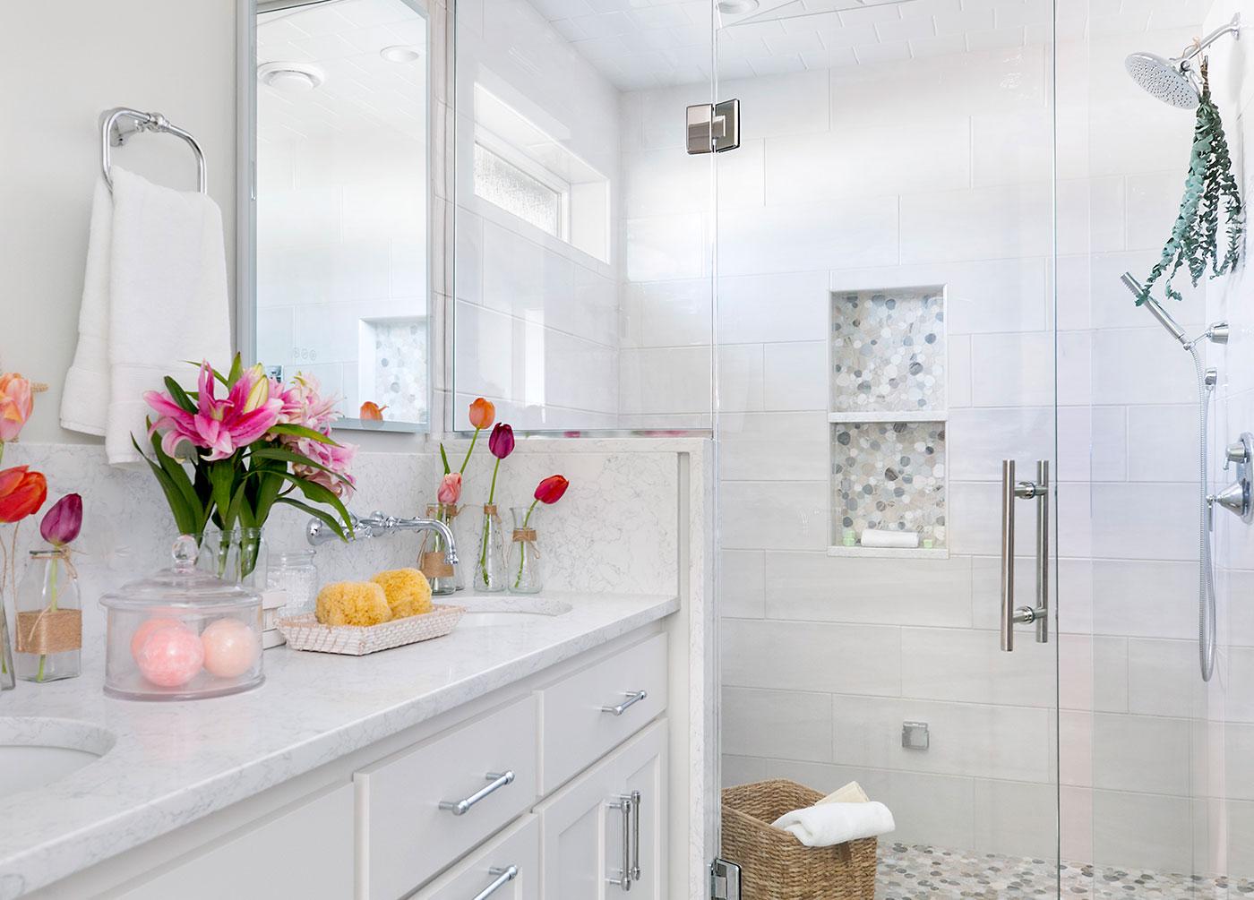 One Room Challenge Spring '21 Bathroom Remodel