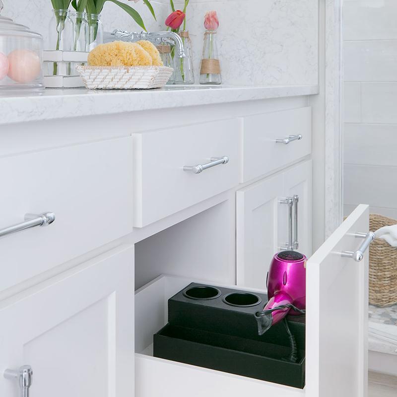 Bathroom Hot Tools Drawer