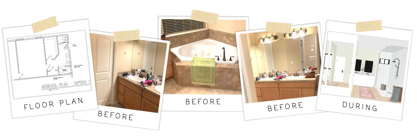 Bathroom Remodel Progress