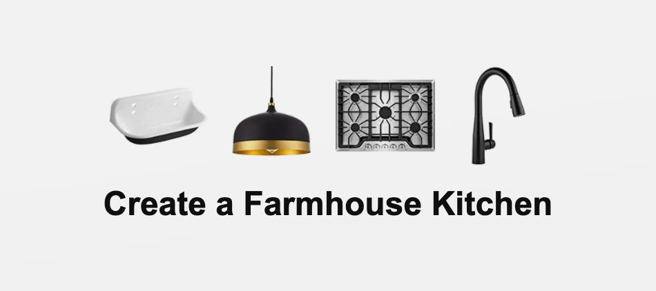 Create a Farmhouse Kitchen
