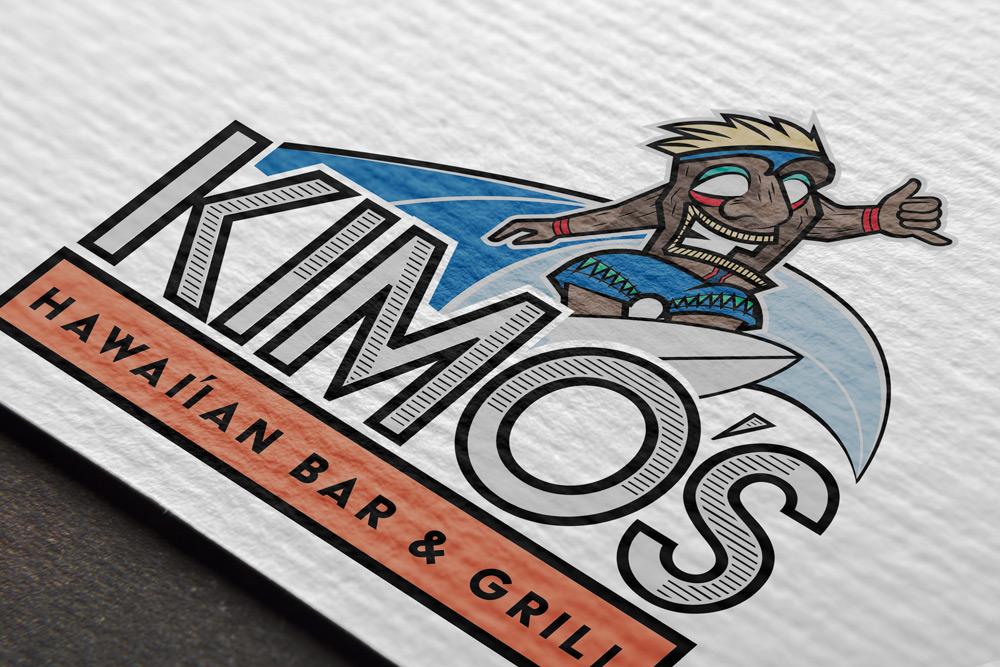 Marketing Design   Kimo's Hawaiian Bar and Grill
