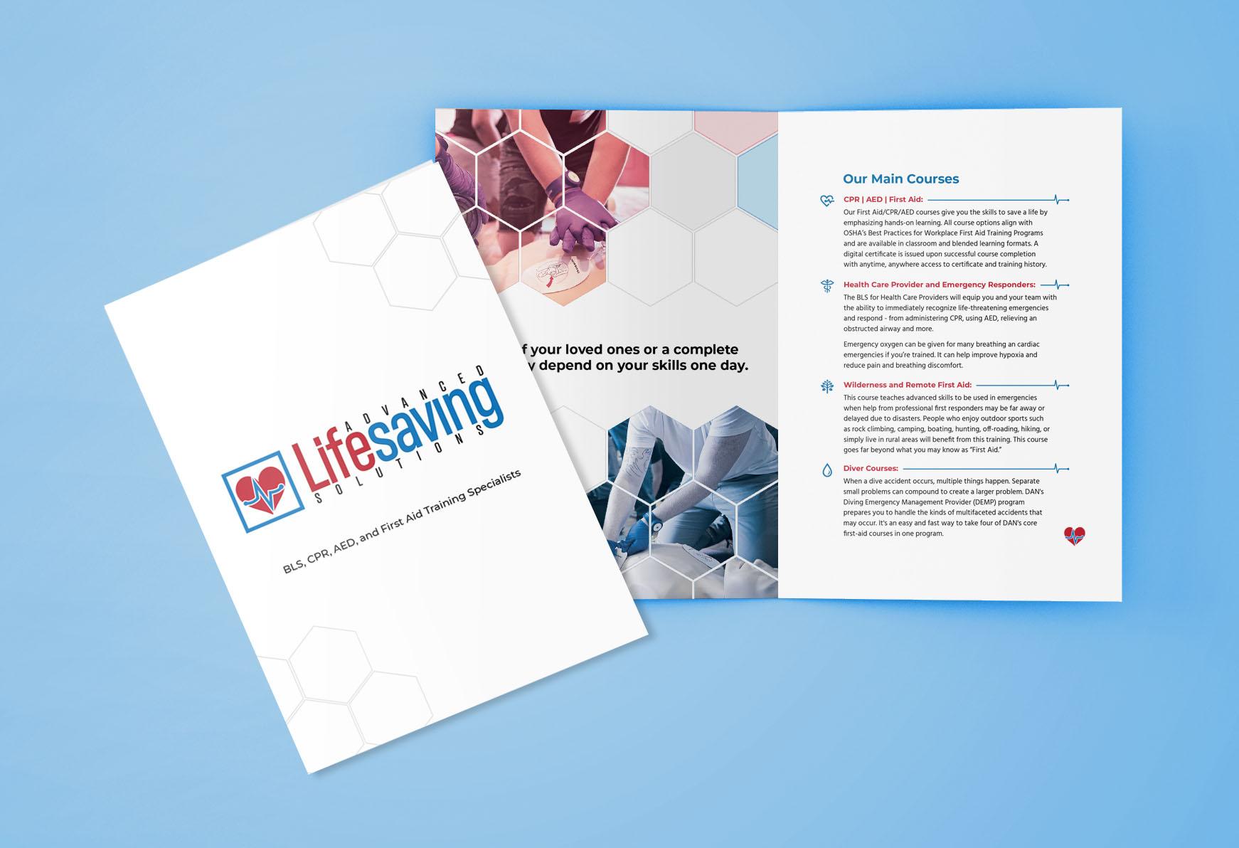 Print Design | Advanced Lifesaving Solutions